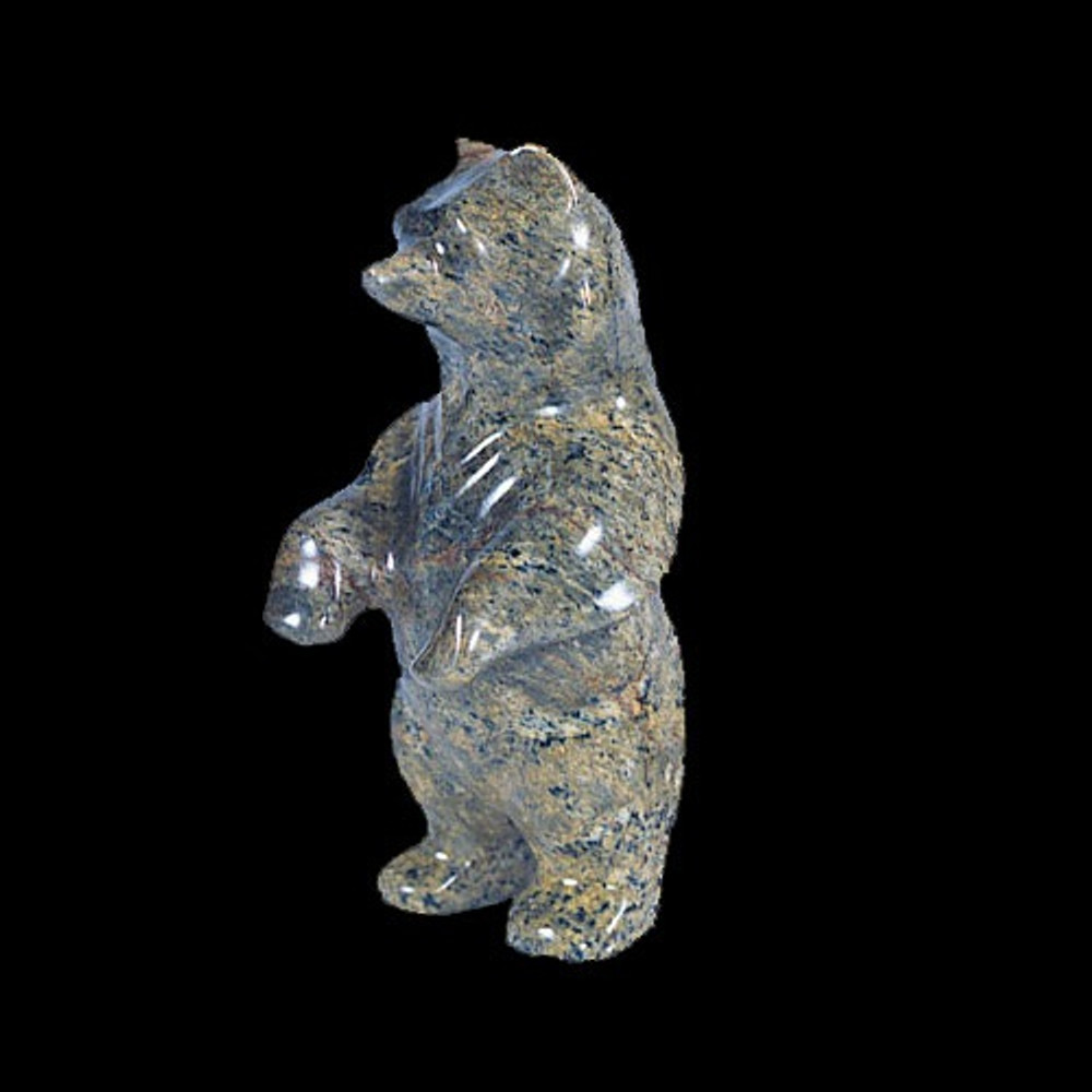 Bear Standing Stone Sculpture | Douglas Creek | DC1400
