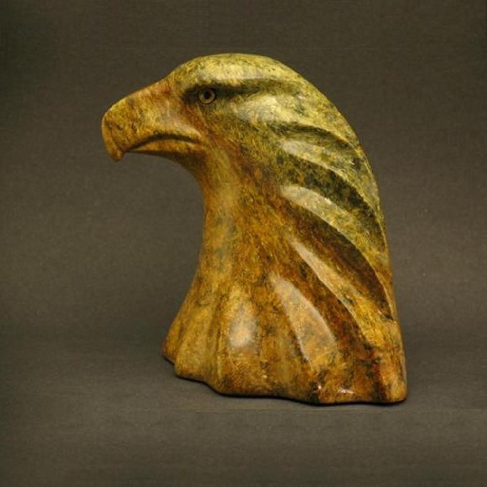 Eagle Bust Stone Sculpture | Douglas Creek | 2000 -2