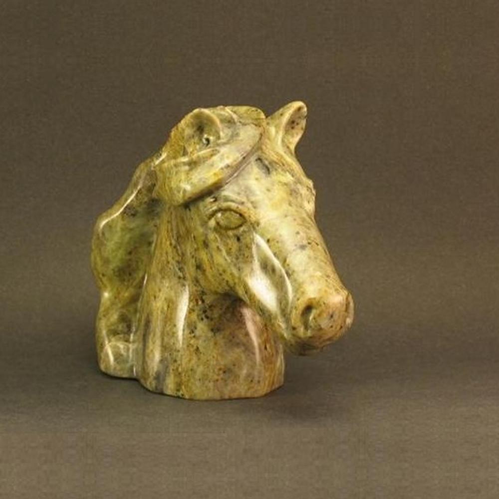 Horse Bust Stone Sculpture | Douglas Creek | 2500 -2