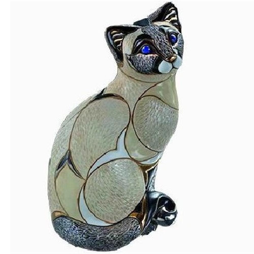 Siamese Cat Ceramic Figurine   De Rosa   Rinconada   DER1016 -2