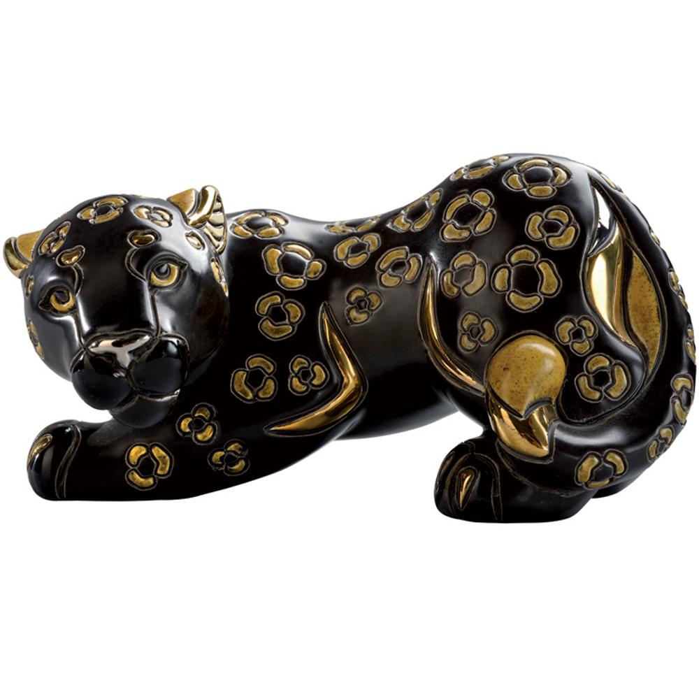 Black Panther Ceramic Figurine   De Rosa   Rinconada   DER1021