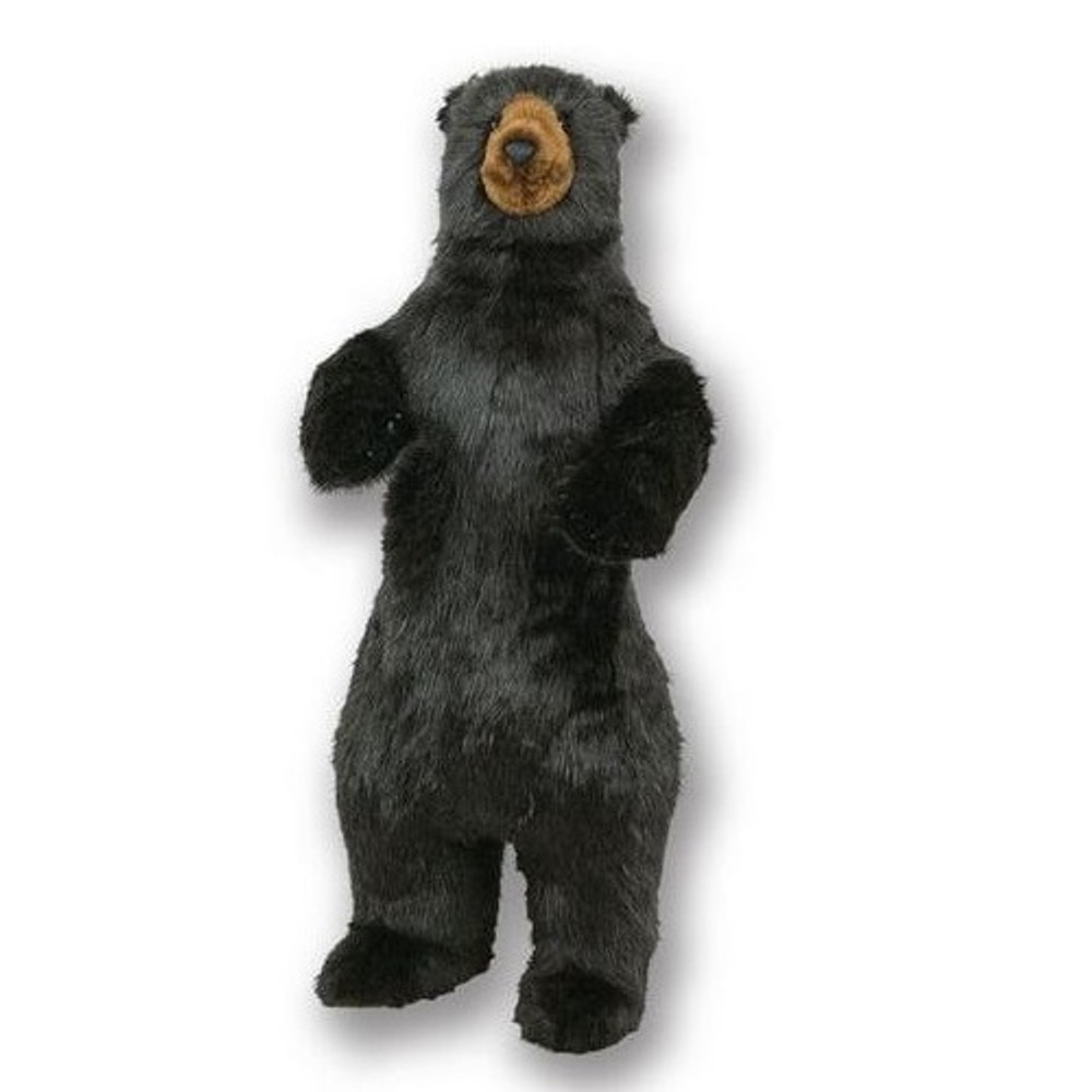 Standing 4 ft Black Bear Plush Stuffed Animal | Ditz Designs | DIT75020