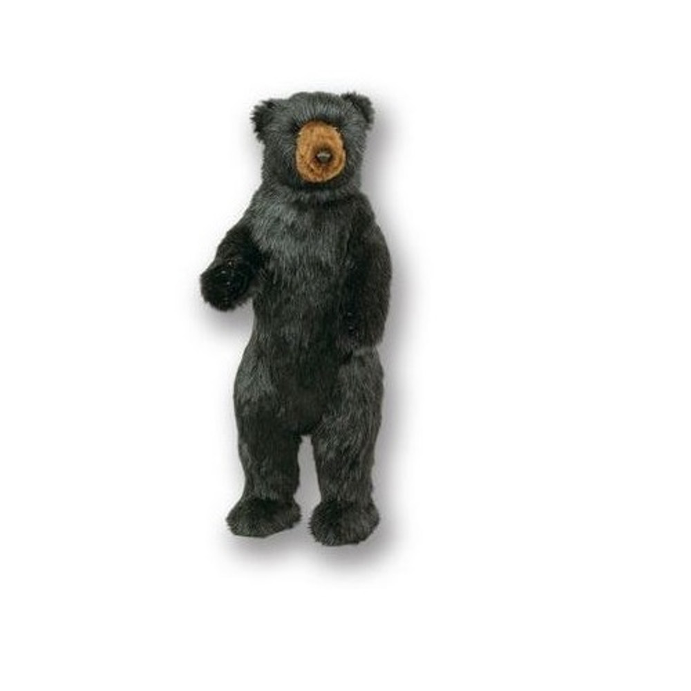 Standing 3 ft Black Bear Plush Stuffed Animal | Ditz Designs | DIT75021