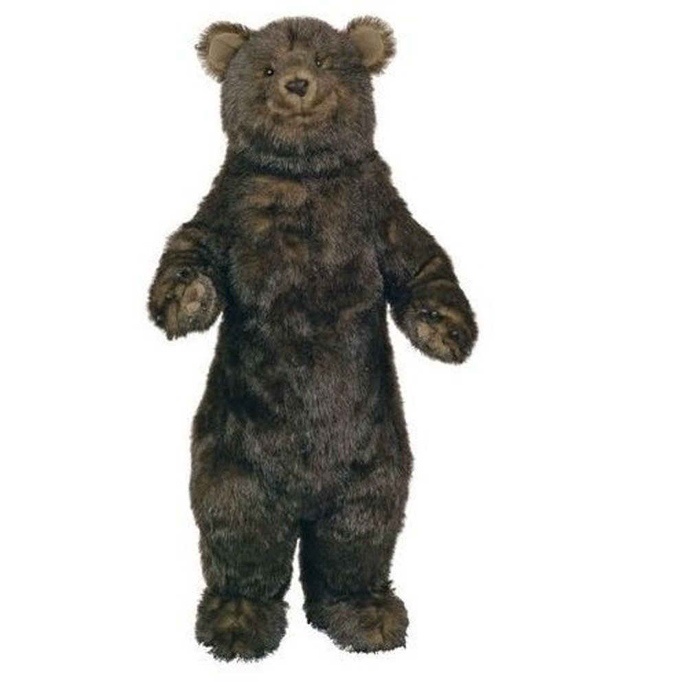 Standing Grizzly Bear Baby Plush Stuffed Animal Ditz Designs
