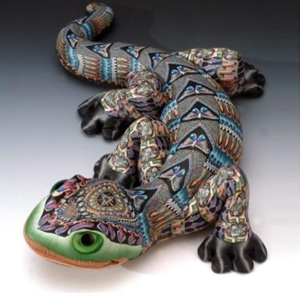 Gecko Jumbo Figurine | FimoCreations | FCfgj