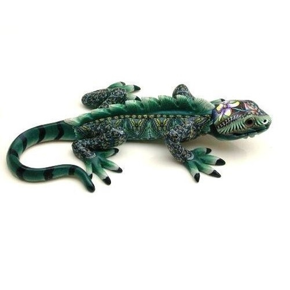 Iguana Baby Figurine | FimoCreations | FCFIB -2