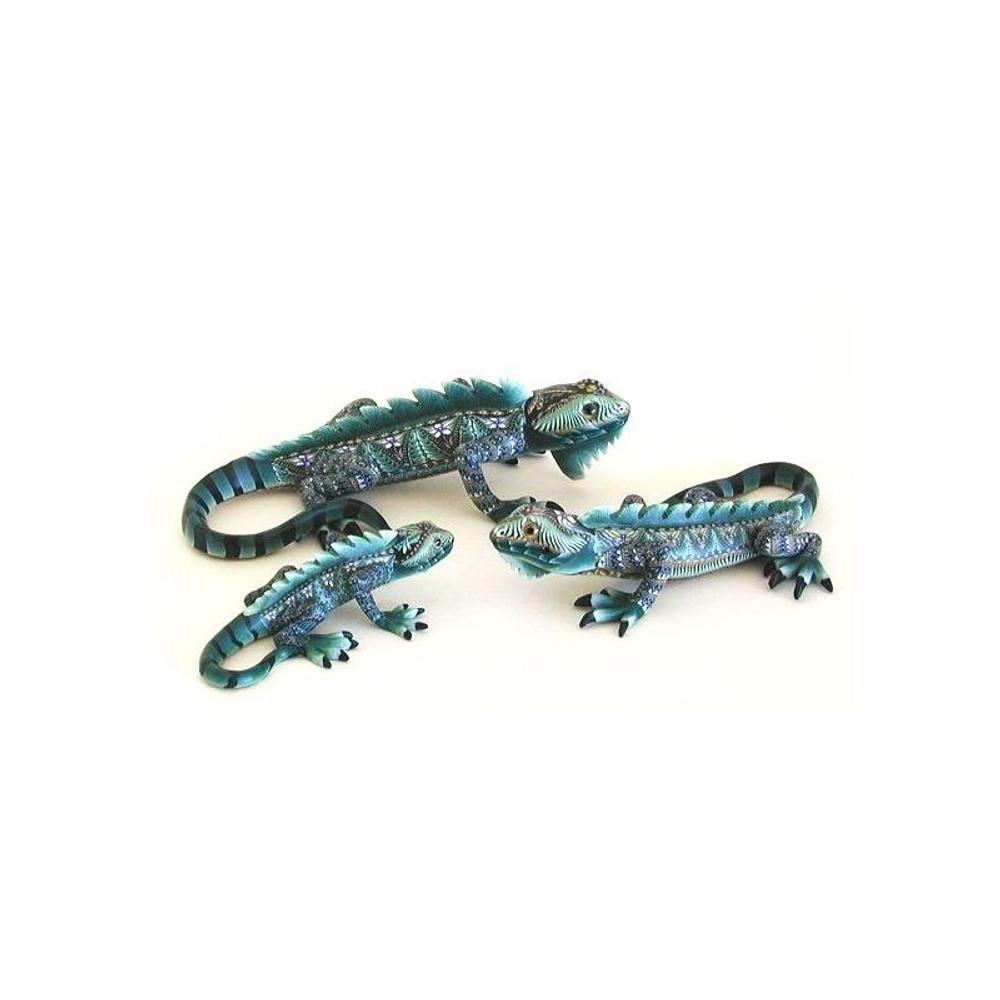 Iguana Mama Figurine | FimoCreations | FCFIM