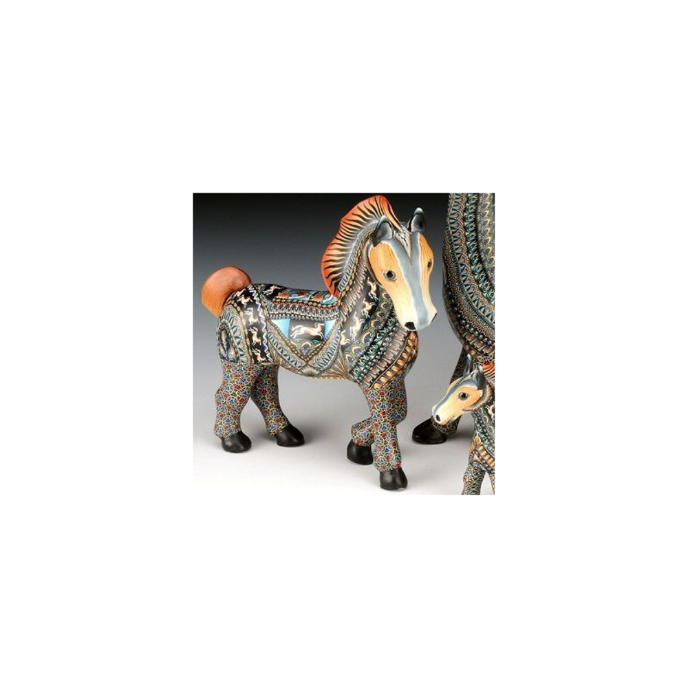 Horse Mama Figurine | FimoCreations | FCfmh