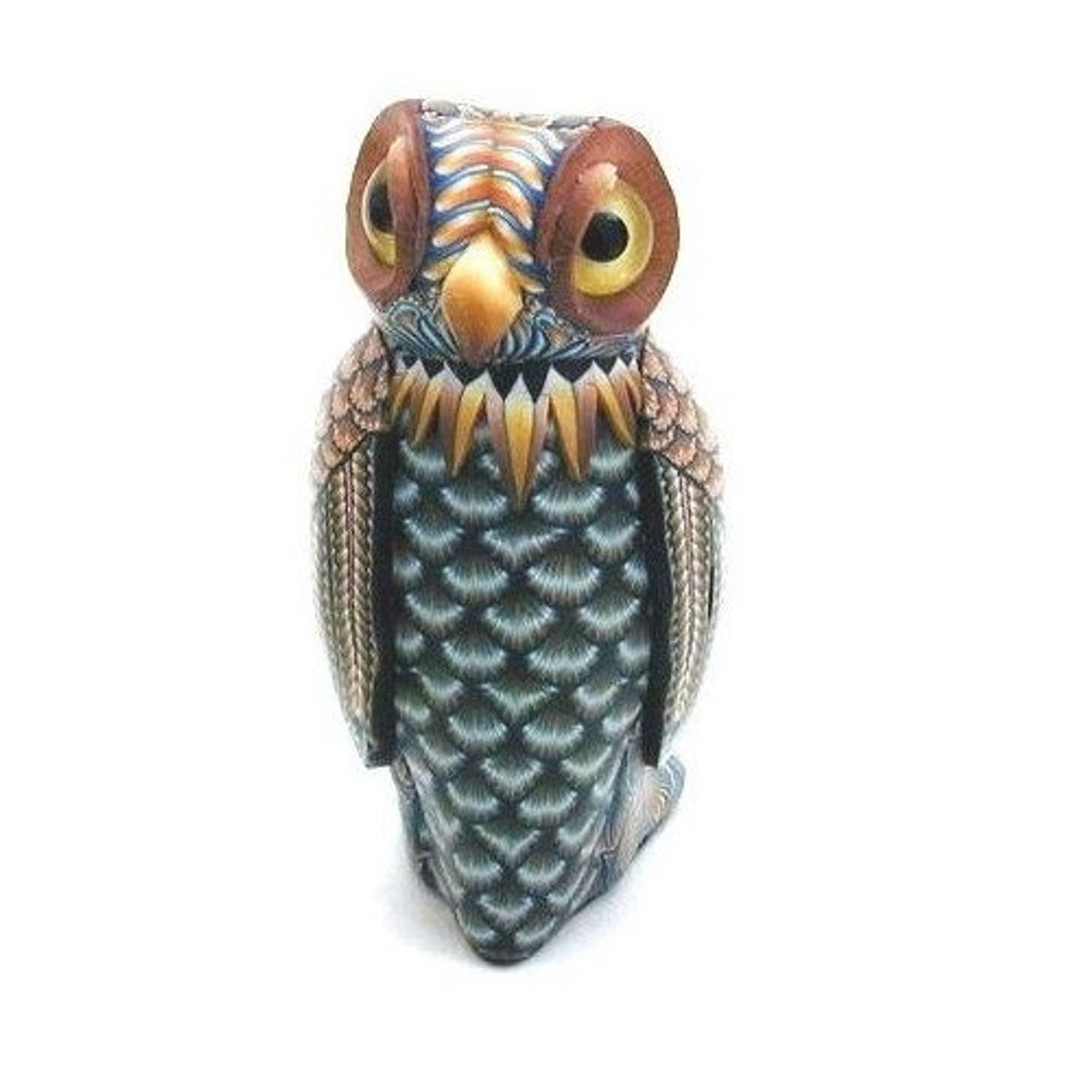 Owl Baby Figurine | FimoCreations | FCfob