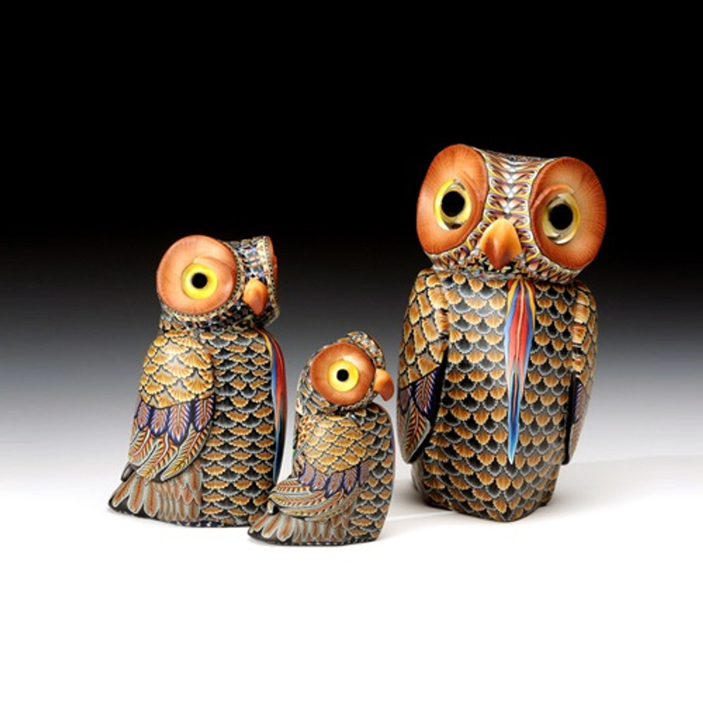 Owl Mama Figurine | FimoCreations | FCfom -2