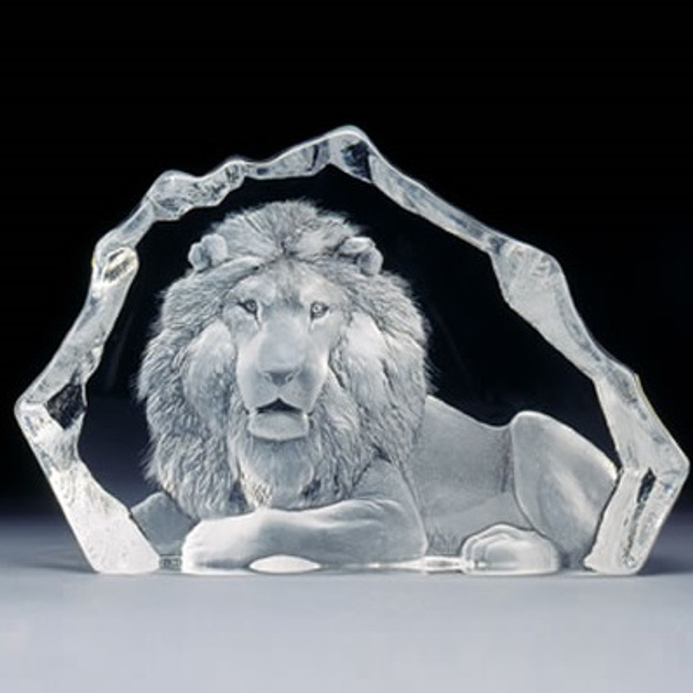 Lion Crystal LTD ED Sculpture | 13305 | Mats Jonasson Maleras