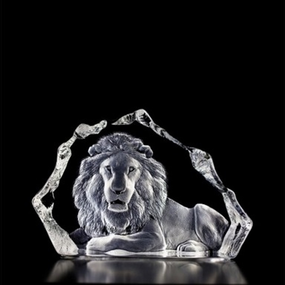 Lion Crystal LTD ED Sculpture | 13305