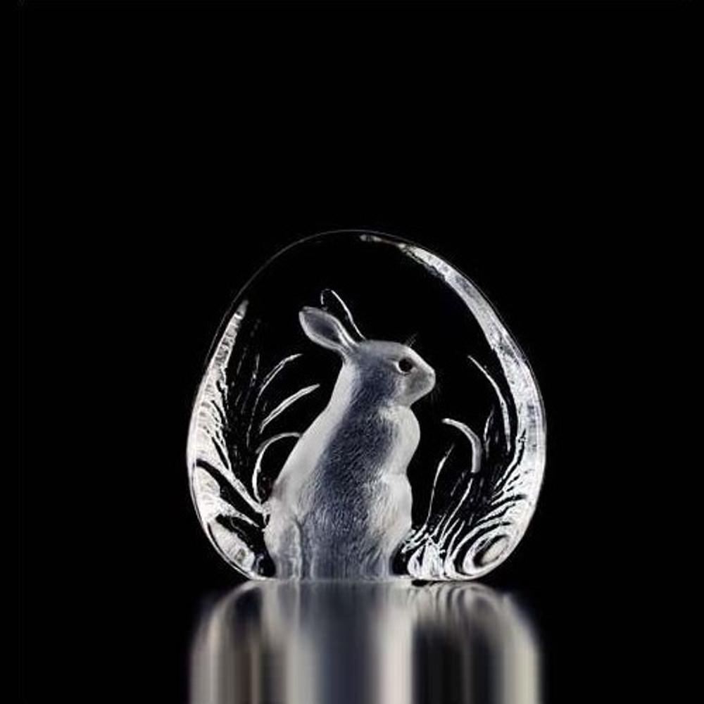 Rabbit Crystal Sculpture | 33281 | Mats Jonasson Maleras