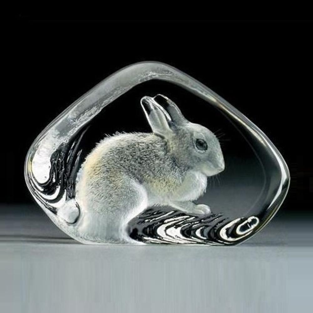 Rabbit Crystal Sculpture | 33738 | Mats Jonasson Maleras
