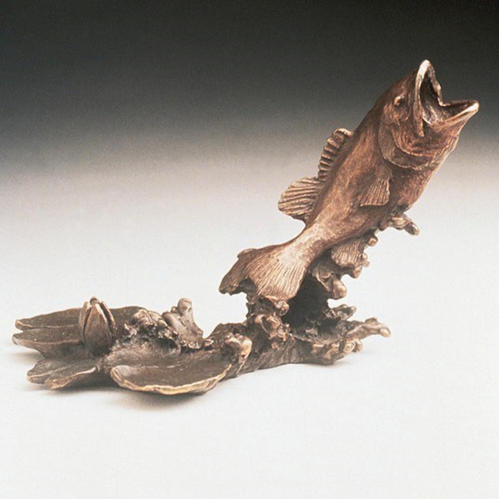 Bass Bronze Sculpture | Mark Hopkins | mhs021021
