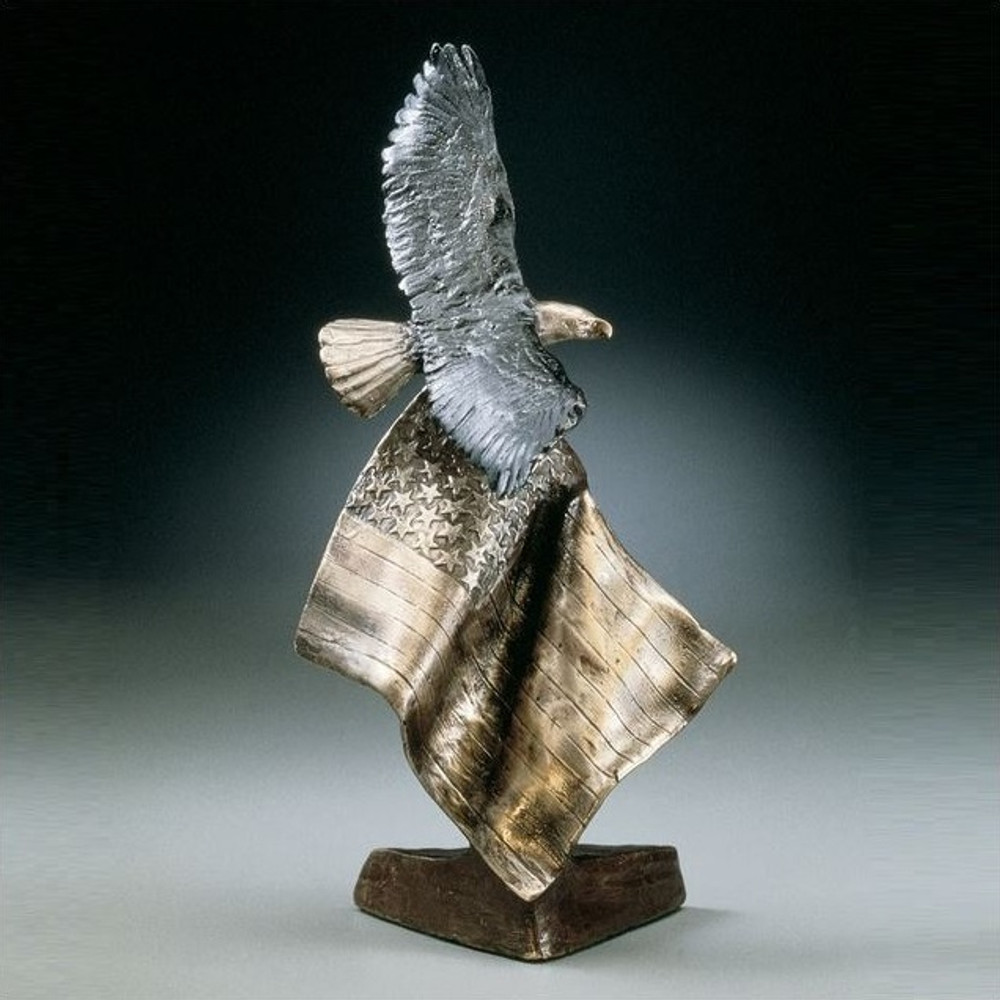 "Eagle Flag Sculpture ""Patriot's Dream"" 
