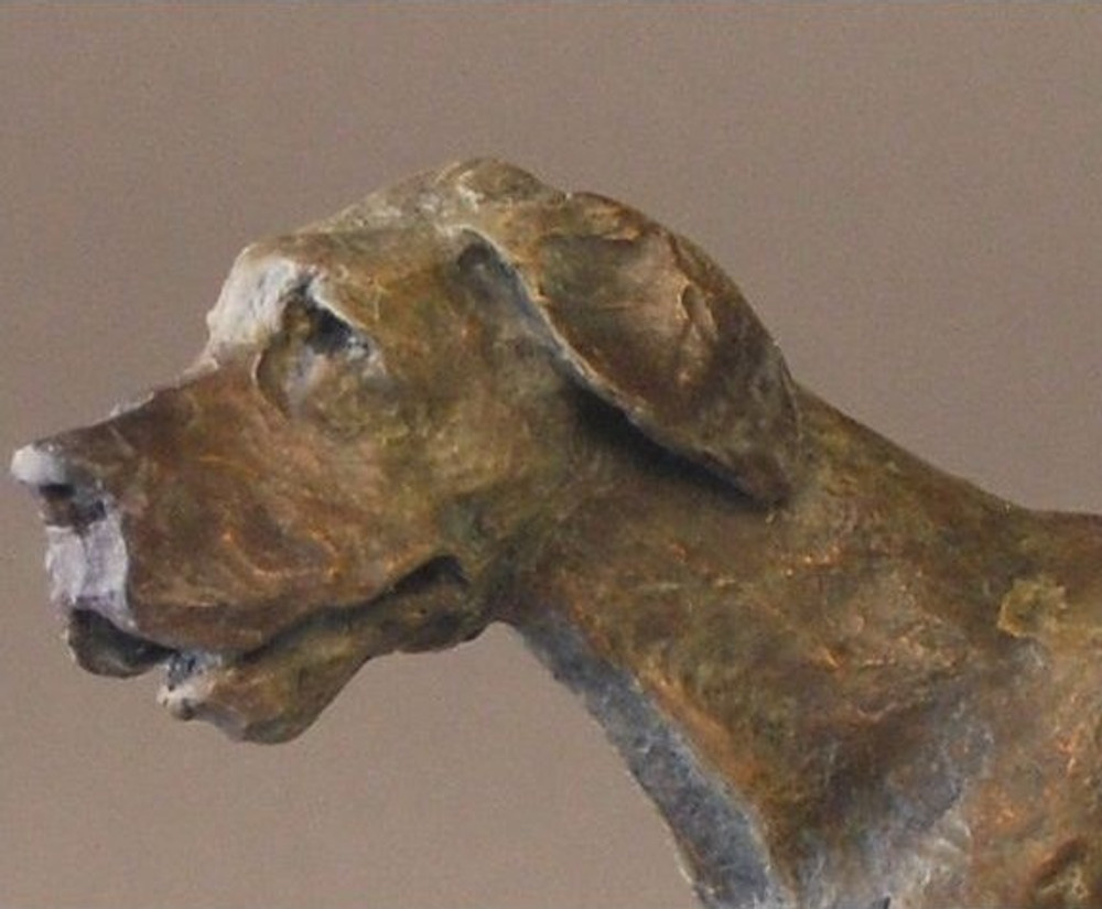 Dog Bronze Sculpture Great Dane | Mark Hopkins | MHS72057 -2