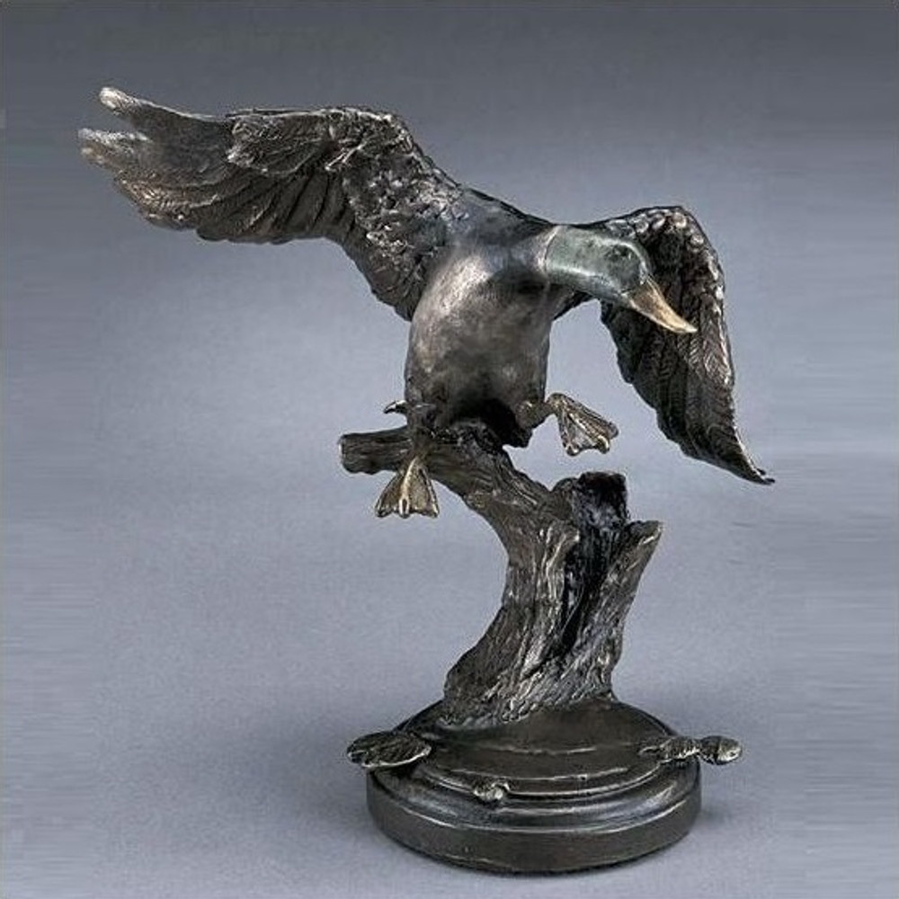 Mallard Bronze Sculpture | Mark Hopkins | mhs81024