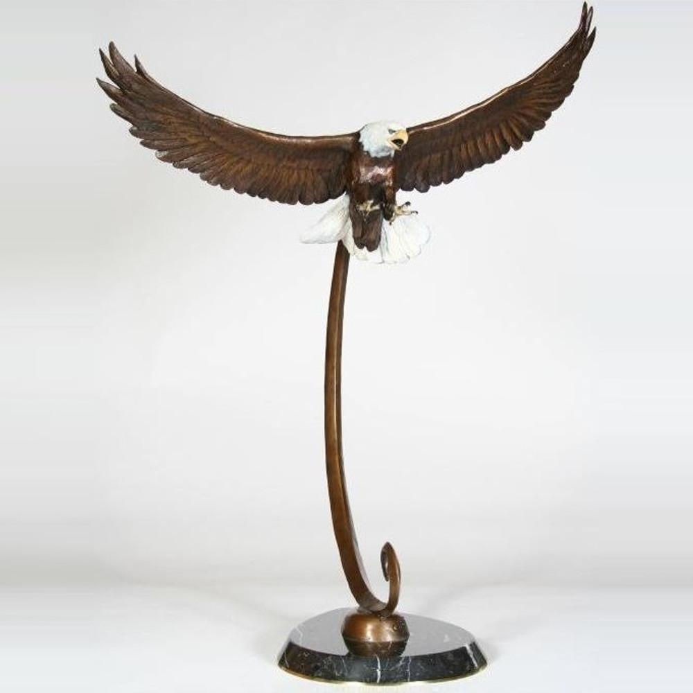 Eagle Bronze Sculpture | Scott Lennard | SLB15