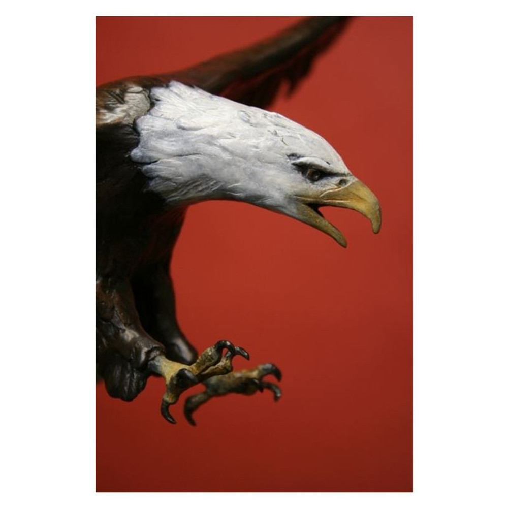 Eagle Bronze Sculpture | Scott Lennard | SLB15 -4