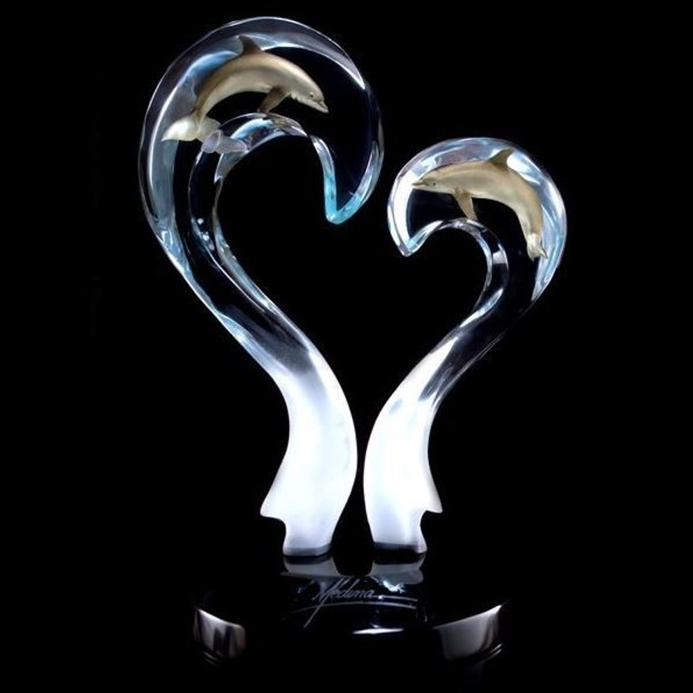 "Dolphin Sculpture ""Amore"" 