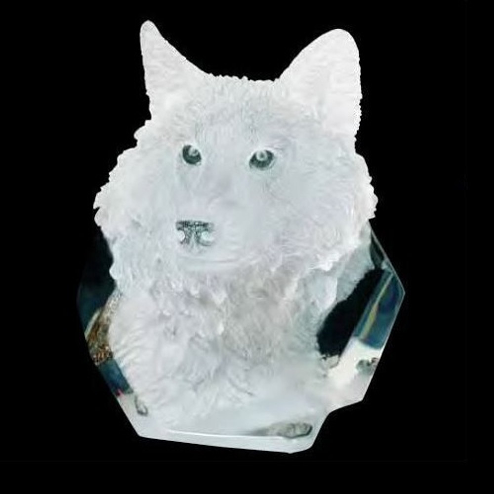 "Wolf Sculpture ""Devotion"" 