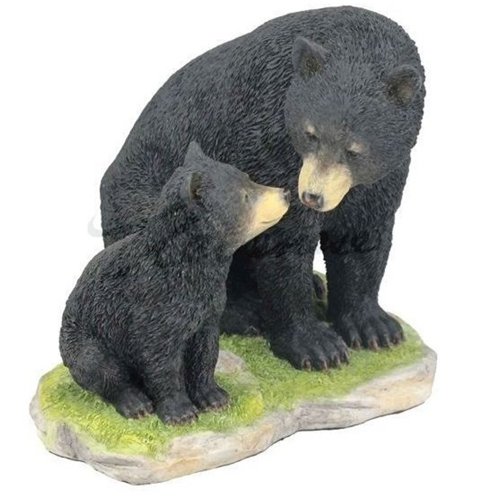 Black Bear with Cub Sculpture | Unicorn Studios | WU76196VA
