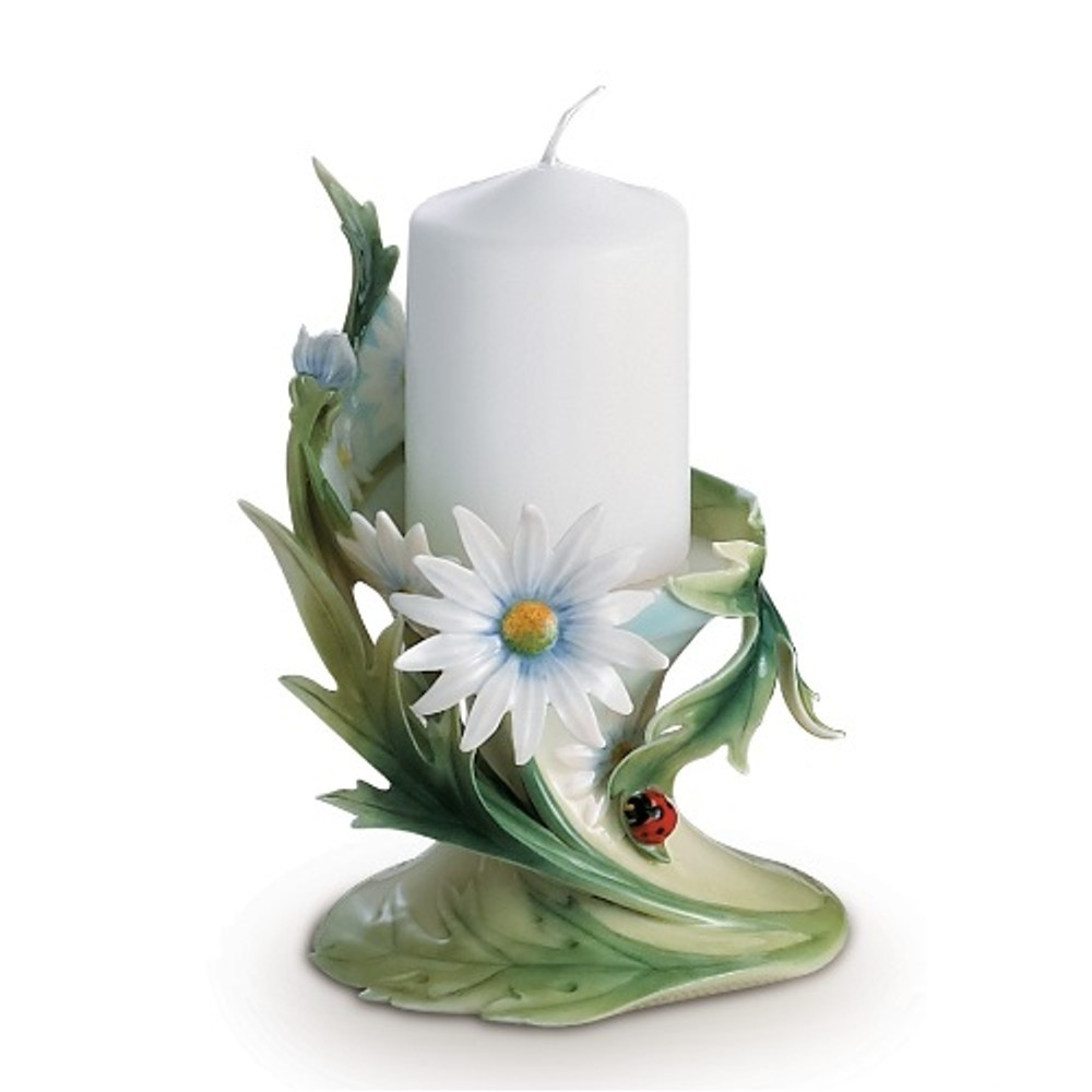 Ladybug Candle Holder | fz00444 | Franz Porcelain Collection