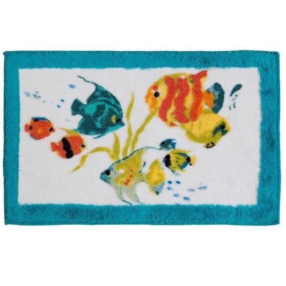 Rainbow Fish Bath Rug | Creative Bath | CBR1073