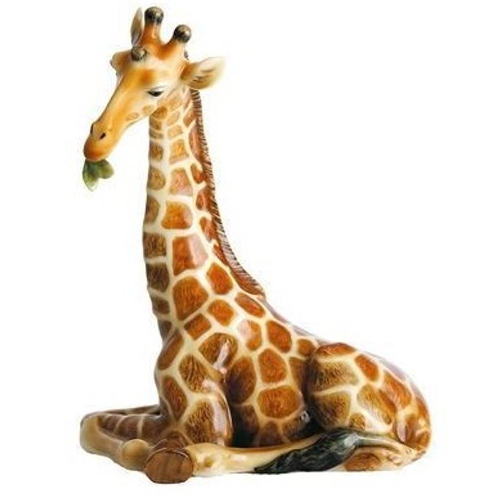 Giraffe Mother Figurine | Franz Porcelain -3