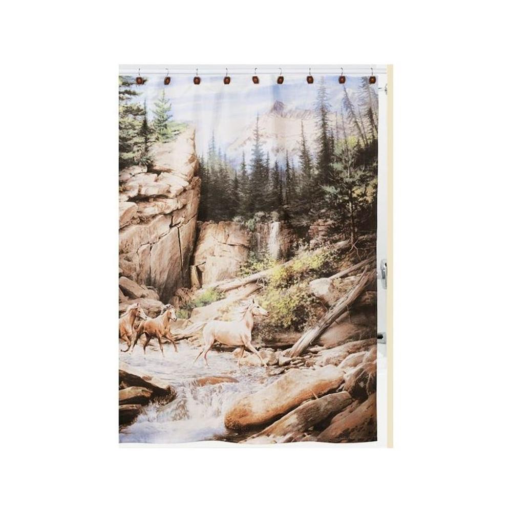 Horse Canyon Shower Curtain | Creative Bath | CBS1093