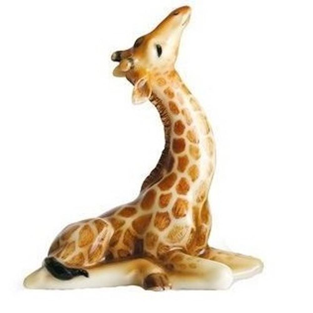 Giraffe Baby Figurine | Franz Porcelain -3