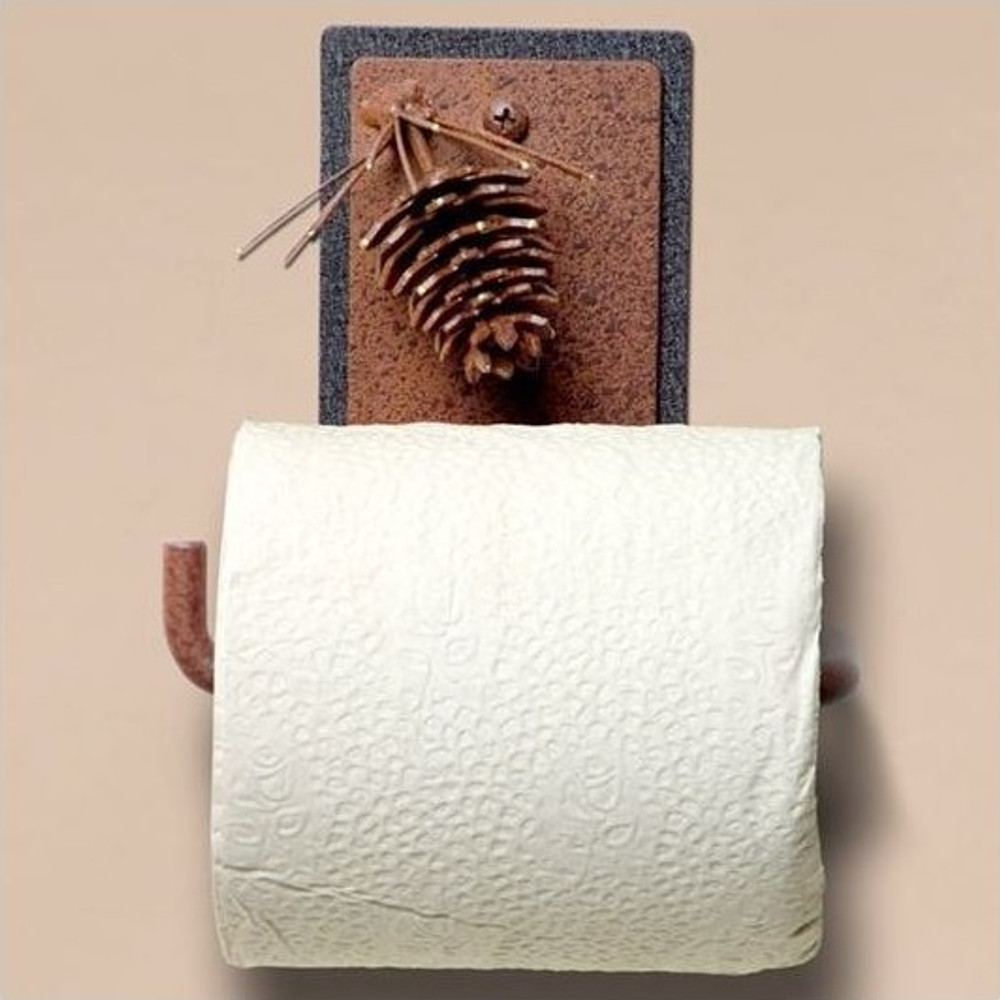 Pinecone Toilet Paper Holder | Colorado Dallas | CDTP01