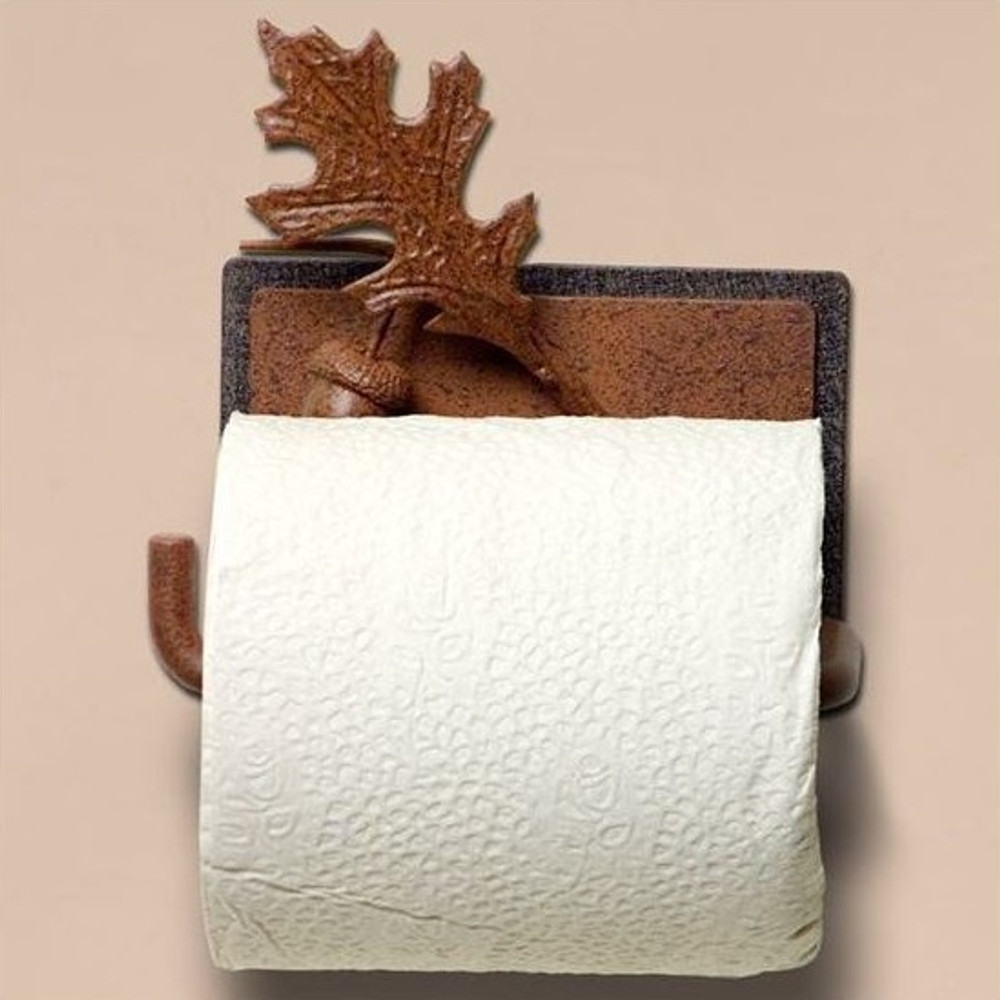 Oak Leaf & Acorn Toilet Paper Holder | Colorado Dallas | CDTP09