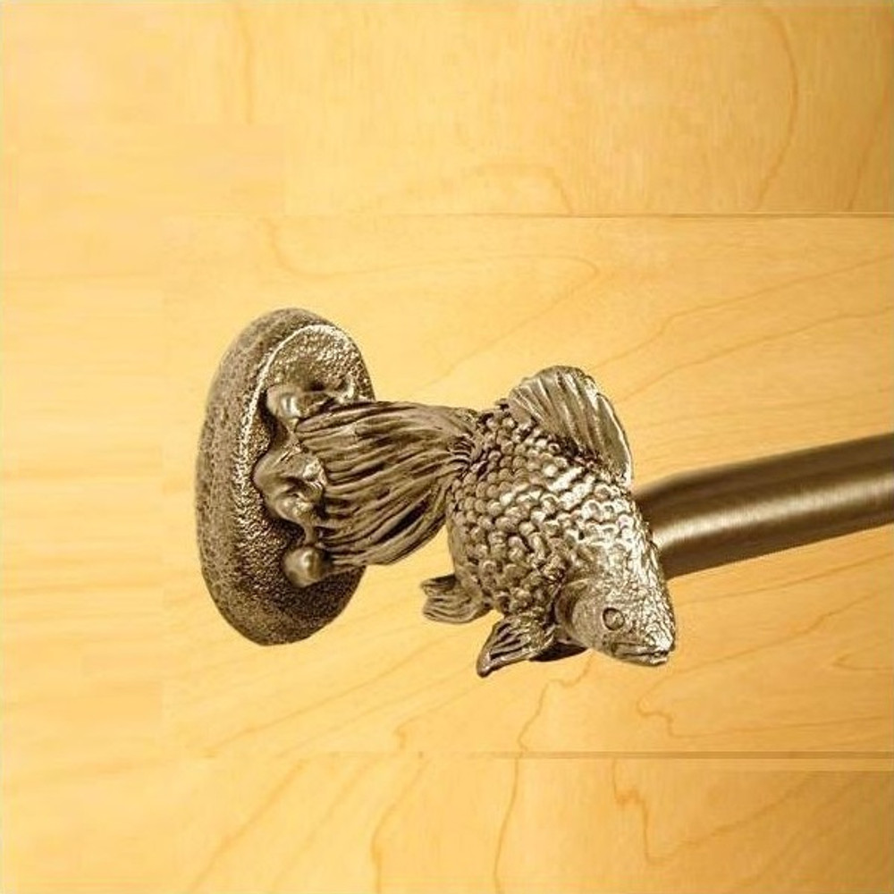 Fantail Goldfish Towel Bar 18"