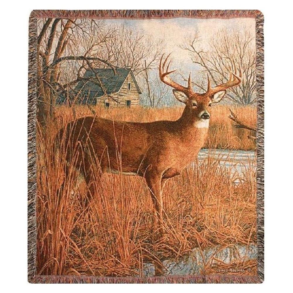 Deer Throw Blanket | Manual Woodworkers | MWWATHSOR