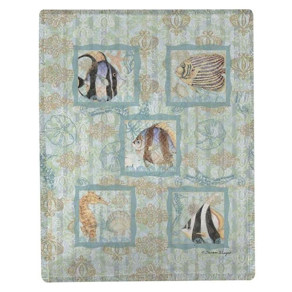 Fish Throw Blanket | Manual Woodworkers | MWWSABOCO