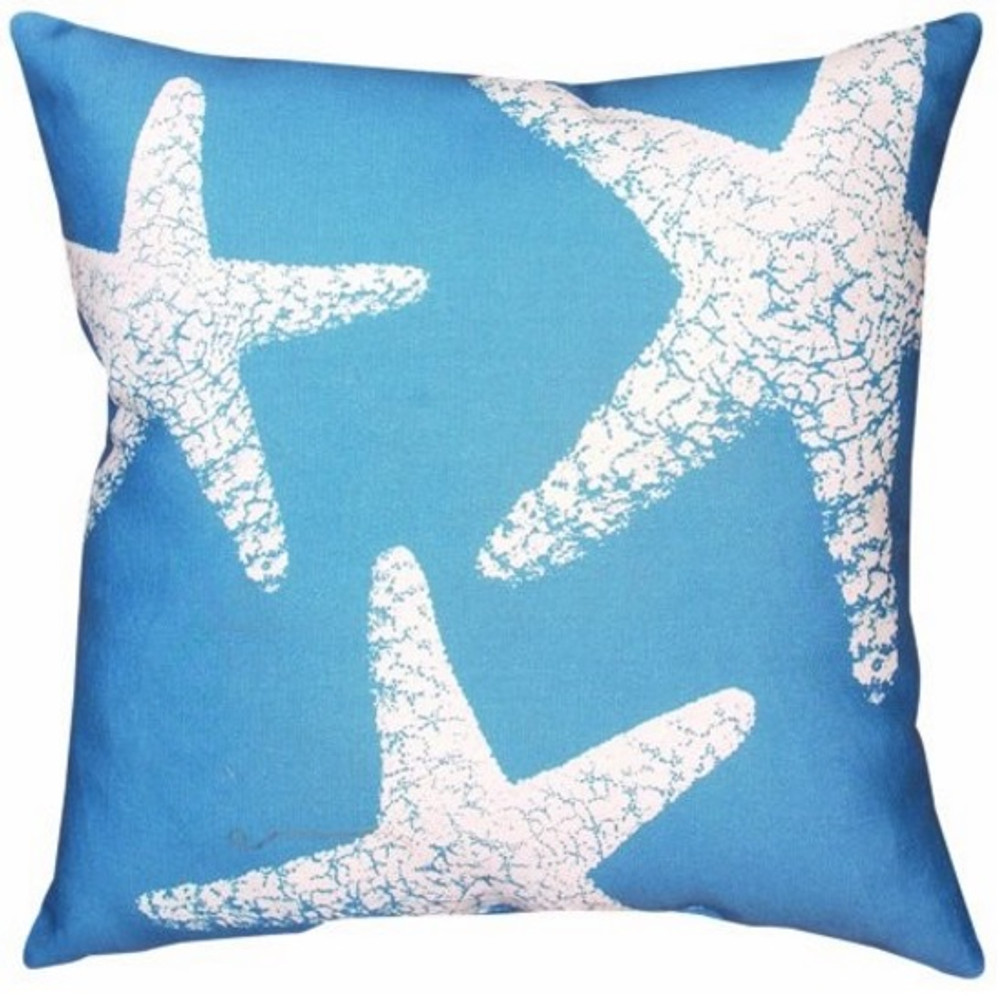 Starfish Indoor/Outdoor Pillow | Manual Woodworkers | SLNSFS-2