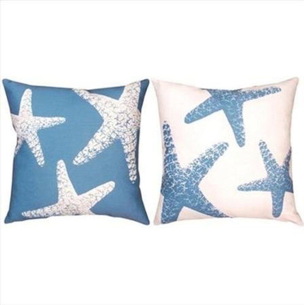 Starfish Indoor/Outdoor Pillow | Manual Woodworkers | SLNSFS-2 -2