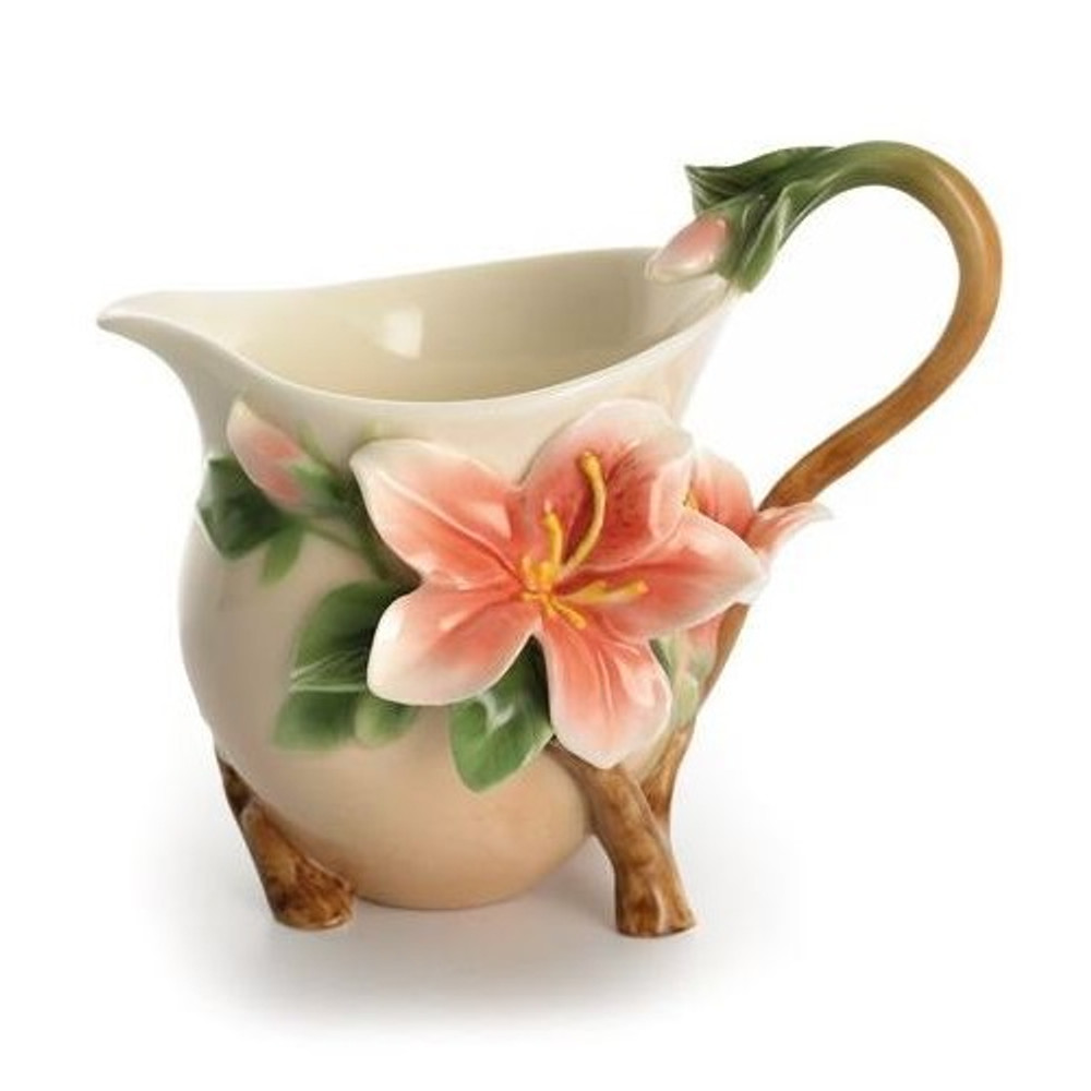 Azalea Allure Creamer | FZ01336 | Franz Porcelain Collection