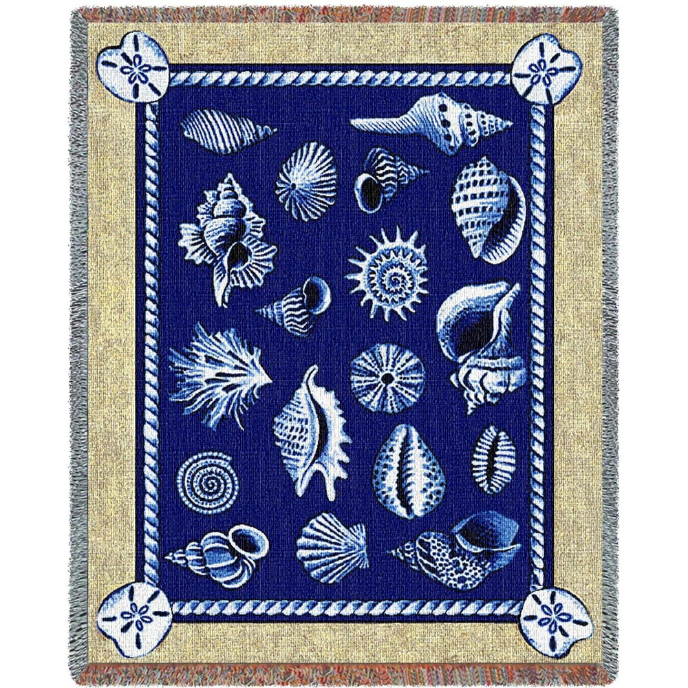 Shell Throw Blanket | Pure Country | PC2121-T