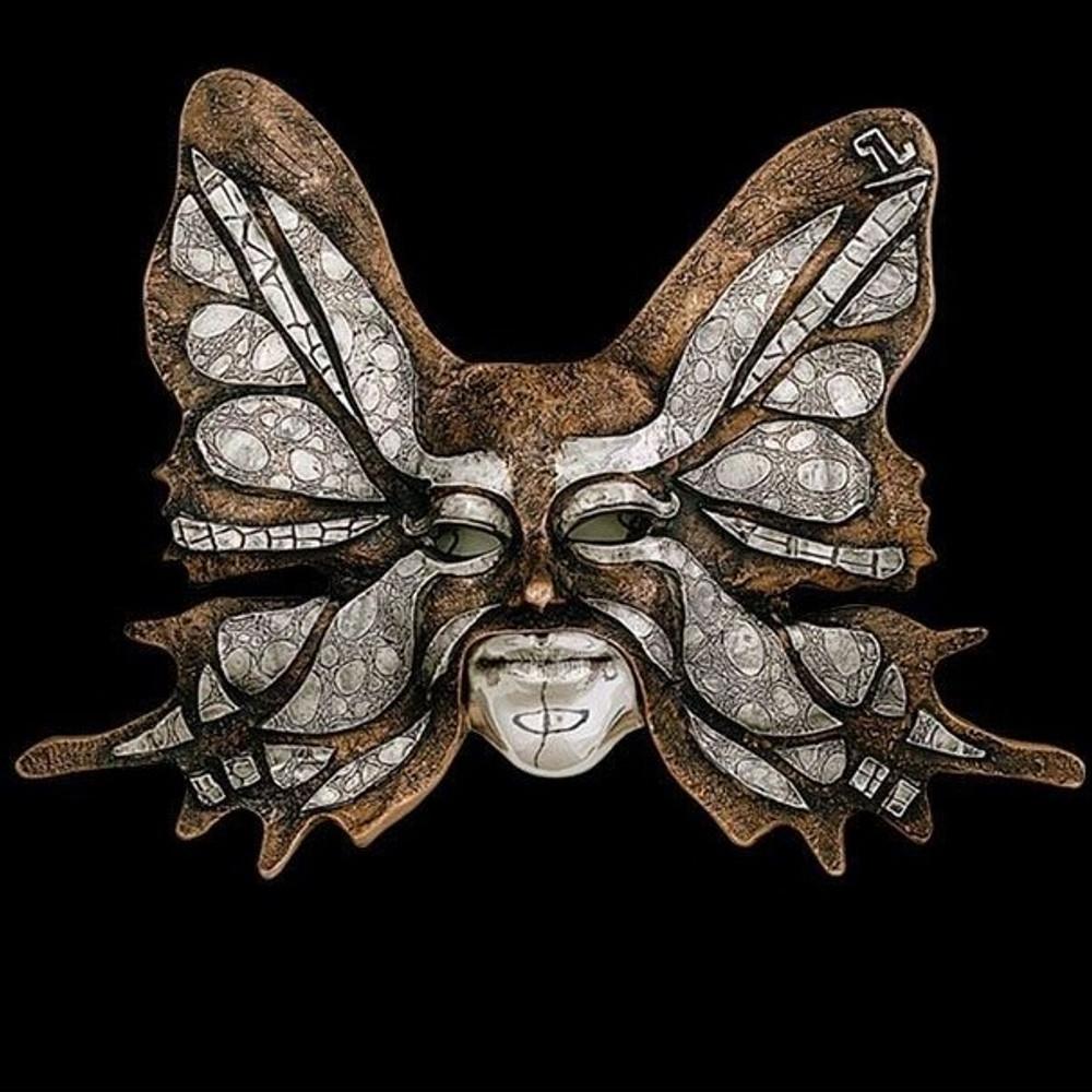Butterfly LTD ED Mask Wall Art Sculpture | 2102 | D'Argenta