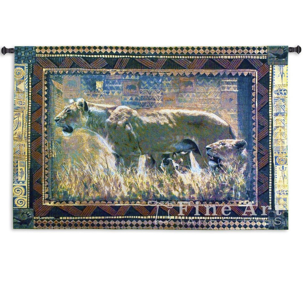 Protecting Her Cubs Lion Wall Hanging | Pure Country | PC1505-WH