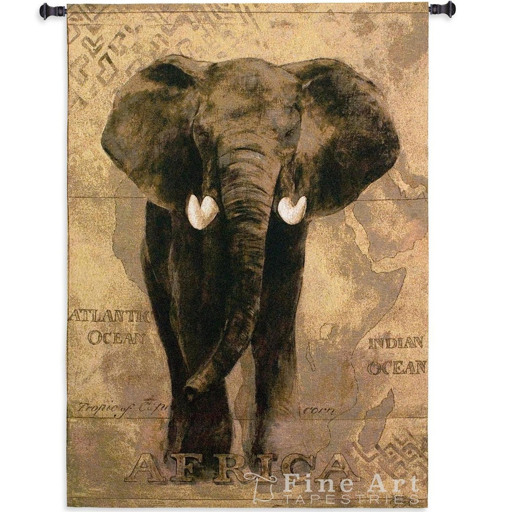 African Voyage I Elephant Wall Hanging | Pure Country | PC1599wh