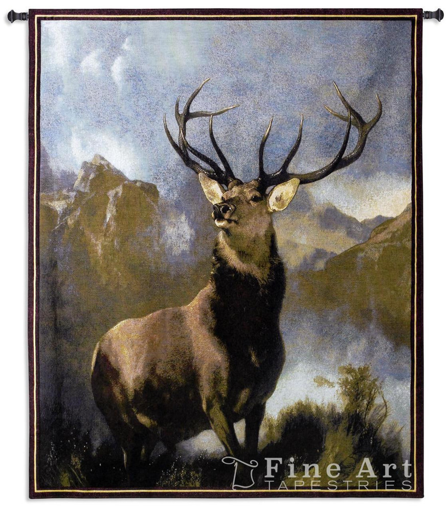 Monarch of the Glen Elk Tapestry Wall Hanging | Pure Country | pc1920wh -2