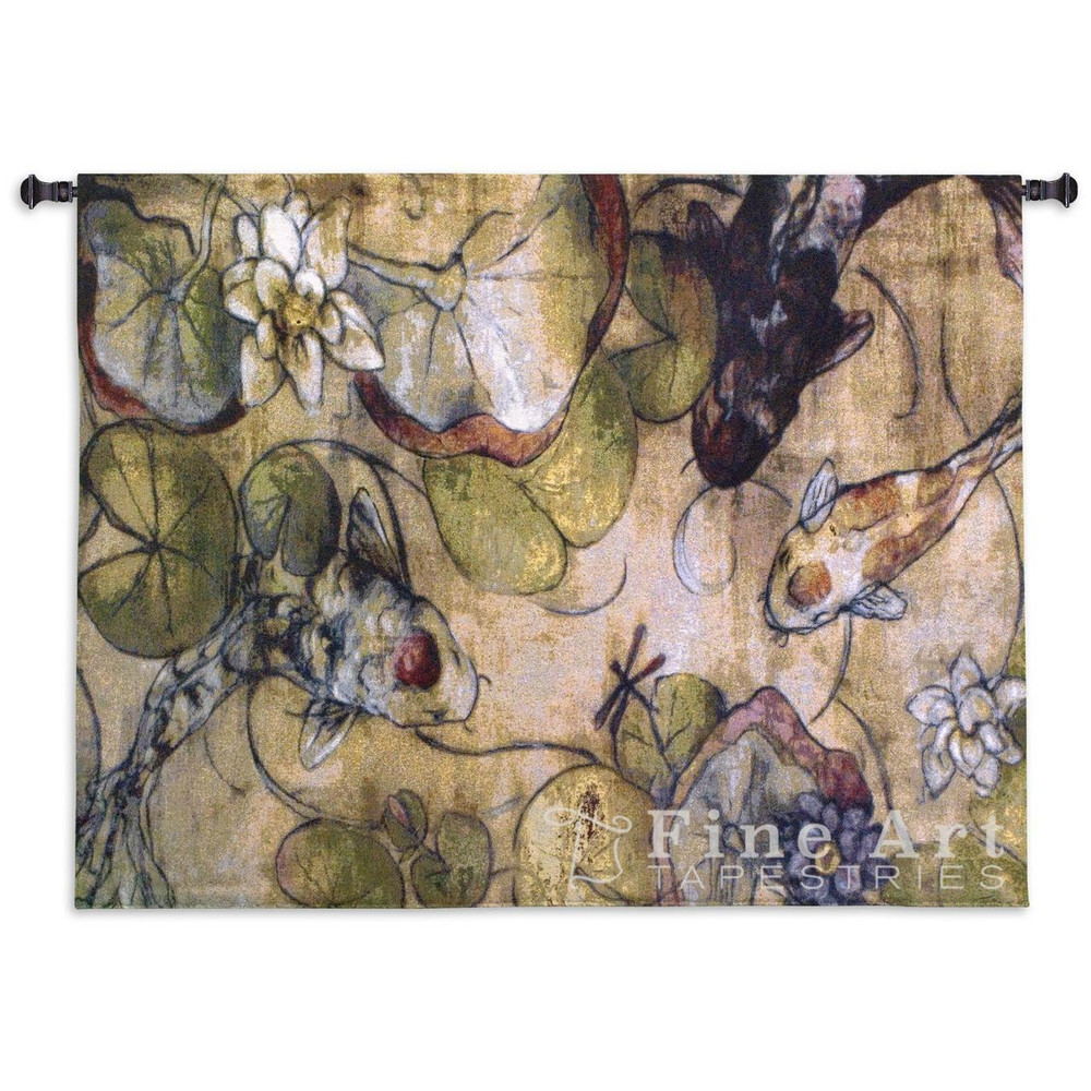 Koi Fish Tapestry Wall Hanging The Meeting | Pure Country | PC2080wh