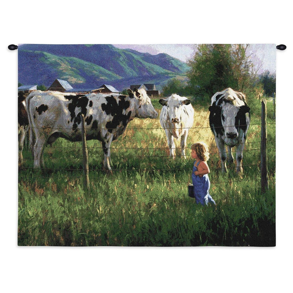 Anniken and the Cows Tapestry Wall Hanging | Pure Country | pc2326wh