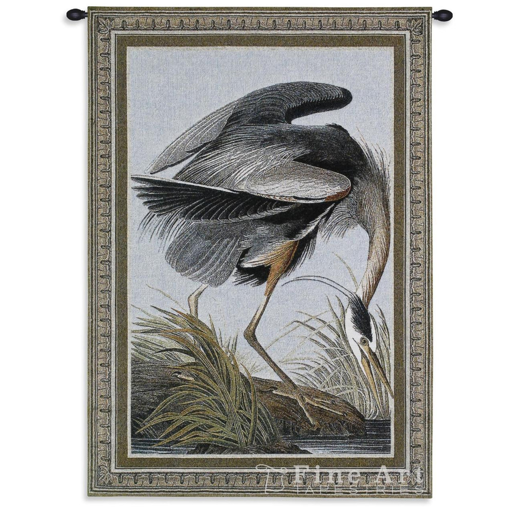 Great Blue Heron Tapestry Wall Hanging | Pure Country | PC2747WH