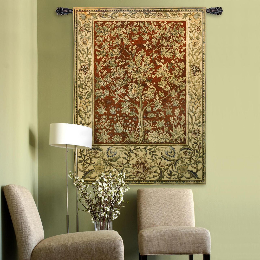 Tree of Life Ruby Tapestry Wall Hanging   Pure Country   PC2767wh -2