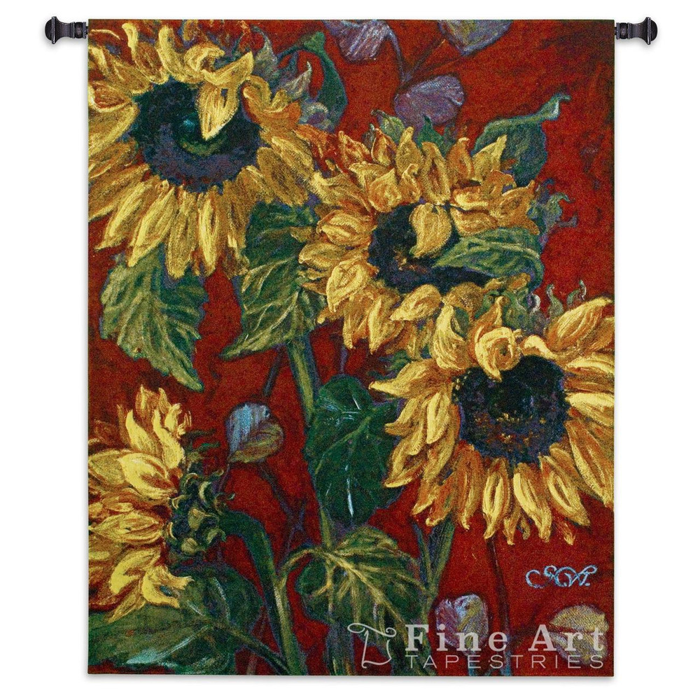 Sunflowers II Tapestry Wall Hanging   Pure Country   pc3426WH